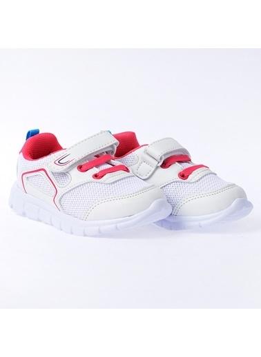 Kiko Kids Kiko S27 Günlük Fileli Cırtlı Kız/Erkek Çocuk Spor Ayakkabı Renkli